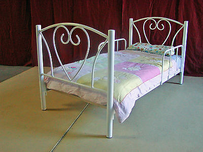 Bella Toddler Metal Bed - Aussie made