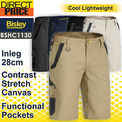 Bisley Work Shorts FLEX and MOVE™ Stretch Mens BSHC1130 NEW