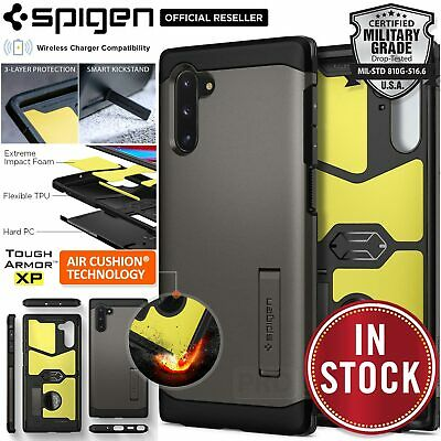 For Galaxy Note 10/Plus 5G Case Genuine SPIGEN Tough Armor Hard Shockproof Cover