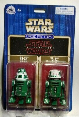 ONLY: $18.88 Disney Star Wars Last Jedi Droid Factory Set R4-X2  & Y5-X2