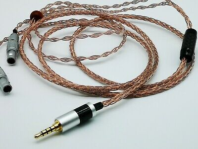 2.5mm balance OCC Silver Plated Cable For Focal Utopia Ultra Premium Headphone