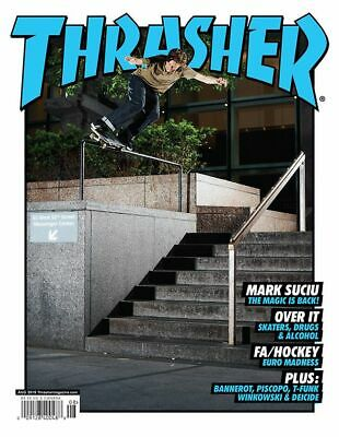 Thrasher Skaters Drugs & Alcohol By Mark Suciu August 2019 Magazine W35 Free