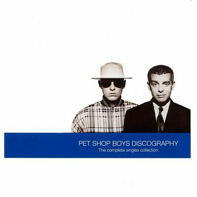 Pet Shop Boys Discography The Complete Singles Collection Cd (Greatest Hits) New
