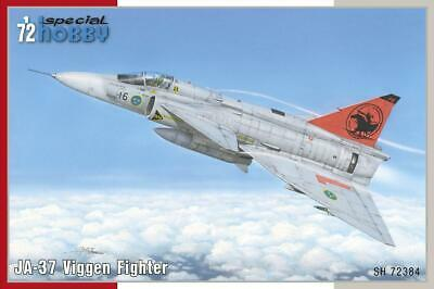 JA-37 Viggen fighter 1/72 plastic kit Special Hobby SH72384