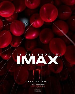 """It: Chapter Two IMAX Poster sizes 11x17"""" 16x24"""" 24x36"""" 32x48"""""""