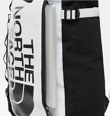 ec455db5a NORTH FACE BLACK Holdall Backpack Style Bag Waterproof Look - £46.00 ...