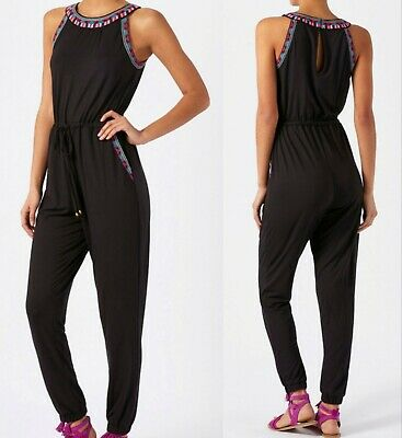 BNWT MONSOON EMMI BOHO Embroidered JUMPSUIT PLAY SUIT BEACH SUMMER RRP £69.00