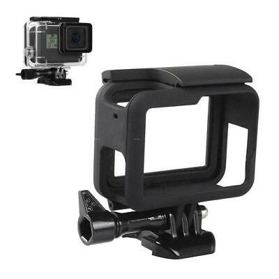 Frame Mount For GoPro HERO 5 6 7 Camera Protective Case Tool Housing Black F2G5