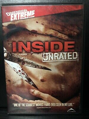 Inside (DVD,2008, Widescreen-English & French Language)-Horror-Rare & OOP