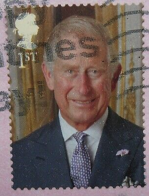 ROYAL MAIL PRINCE CHARLES STAMP FOR THE QUEEN'S 90th BIRTHDAY 2016