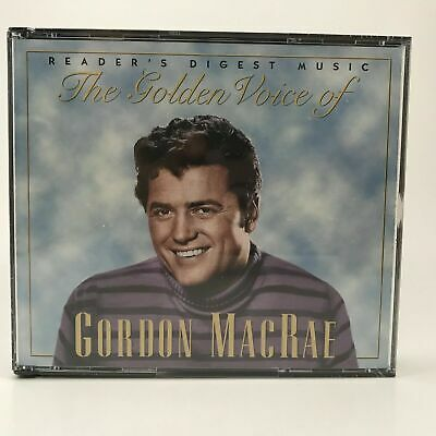 READERS DIGEST MARIO Lanza Golden Voice 3CD Box 60s OOP