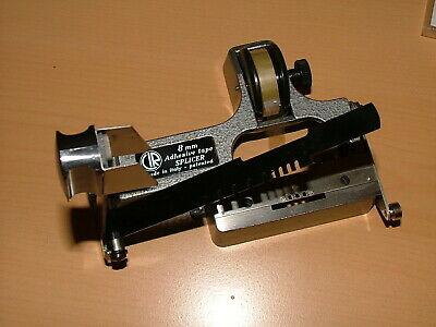 CIR CATOZZO DE-LUXE STANDARD REGULAR 8mm TAPE FILM SPLICER #1. with instructions