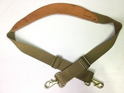 HARTMANN Leather Nylon Carry On Luggage Shoulder Pad Strap Replacement 44""