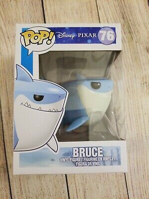 Funko Pop Bruce Shark Finding Nemo. Disney Pixar. Vaulted Retired Rare. Good box