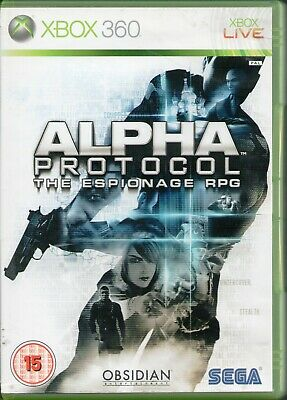 Xbox 360 - Alpha Protocol the Espionage RPG (Microsoft Xbox 360, 2010)