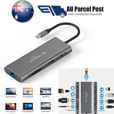 9 in 1 Universal Fast Charge Docking Station Support Type-C PD HDMI USB 3.0 Port