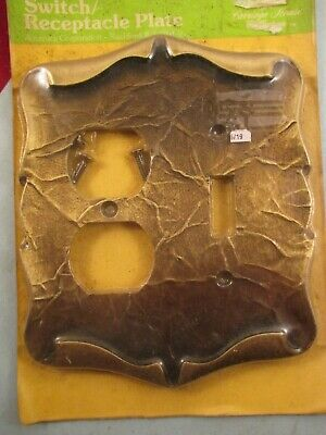 Vintage Amerock Carriage House antique english light/receptacle plate cover