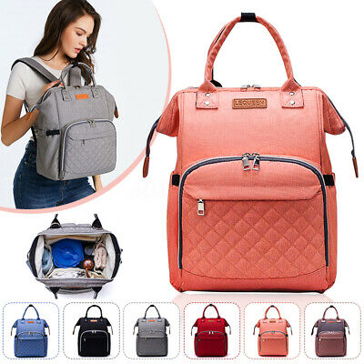 LEQUEEN Mummy Maternity Nappy Diaper Bag Large Capacity Baby Bag Travel