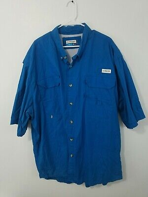 88f91cb8967 COLUMBIA PFG TROLLERS Best Vented Shirt Mens Big & Tall XLT Short ...