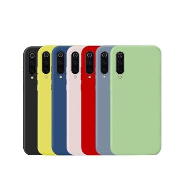 For Xiaomi Cc9 Liquid Silicone Phone Case Ultra Thin Soft Mobile Phone Case E6A9