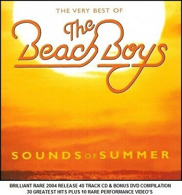 The Beach Boys Very Best 30 Greatest Hits Collection RARE 60's Surfing CD & DVD