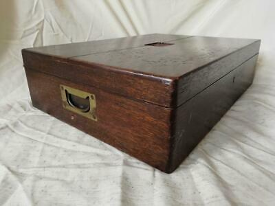 Antique  Harrods Cutlery Box With Key