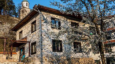 Stone House on the banks of the Arda river