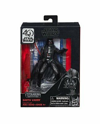 "Darth Vader #01 Star Wars Black Series 40th Anniversary 3.75"" Figure Display NIB"