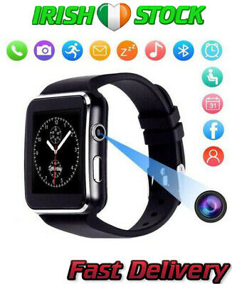 2019 Smart Watch Phone Bluetooth Curved Screen Mate Fit Samsung/iPhone/Android