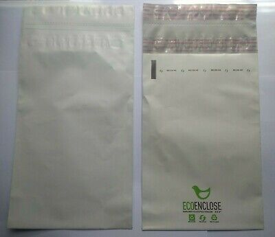 100 Pack of 6x9 (2.5 mil) 100% Recycled Poly Mailers Eco-Friendly Sustainable 2
