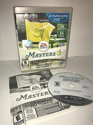 Tiger Woods PGA Tour 12: The Masters - PS3 - TESTED - CIB