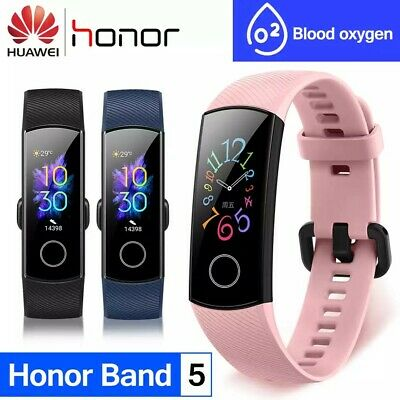 NUEVA Huawei Honor Band 5 smartband monitor oxigeno mejor que Xiaomi Mi band 4