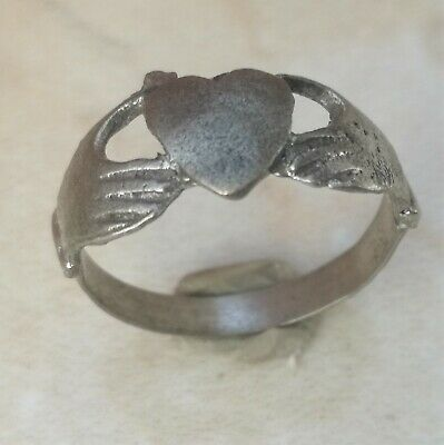 Ancient Viking Silver Ring Magnificent Artifact Rare Type Lovely Ring