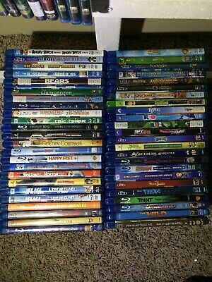 Blu-Ray - Pick One - Disney Dreamworks Pixar Cartoon Family