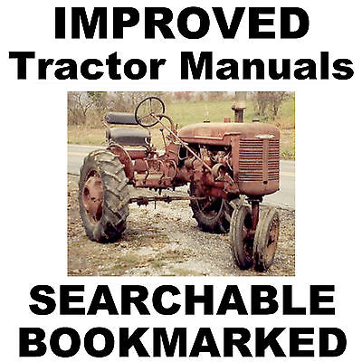 IH FARMALL B & BN SERVICE Shop + Owners MANUAL + Parts Catalog -3- MANUALS CD