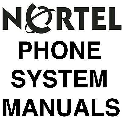 NORTEL MERIDIAN NORSTAR 3x8 DR5 KSU Phone System w/ Power Supply 308
