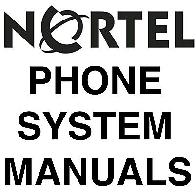 BIGGEST NORSTAR NORTEL MANUALS Phone SYSTEM MANUAL MANUALS DVD SET
