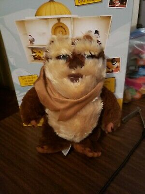 Disney Parks Star Wars Wicket Ewok Plush Doll Toy 9 Inches