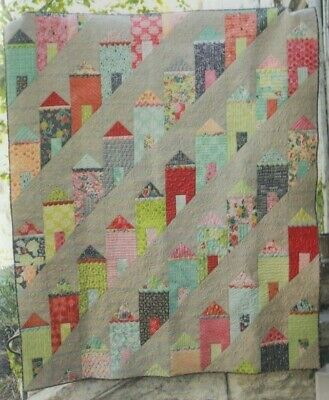 Painted Ladies - fabulous pieced quilt PATTERN - Eye Candy Quilts