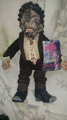 Mezco Neca Texas Chainsaw Massacre Leatherface horror toy doll no Chainsaw