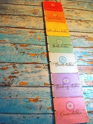 The 7 Stages Of Chakra Wall Plaque  CHAKRA YOGA REIKI Rainbow WALL DECORATION