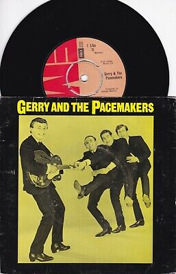 "Gerry And The Pacemakers..i Like It..very Good Emi Re-Issue Pop / Beat 7"" 2689"