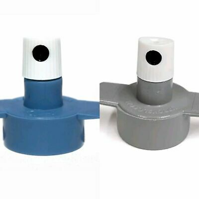 Spray Paint Cap Adaptors Double Pack Male 2 Female Valve ~ Use Any Aerosol Can