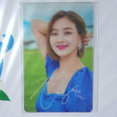 TWICE Twaii's Shop POPUP STORE JIHYO official transparent photocard