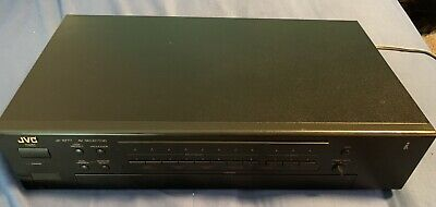JVC JX-S777 AUDIO VIDEO SWITCHER No REMOTE Pristine Condition.