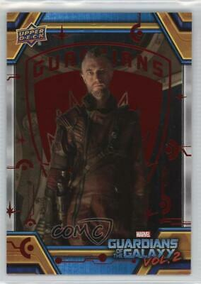 2017 Upper Deck Guardians of the Galaxy Volume 2 Red/49 #77 Ego and Kraglin 0ad