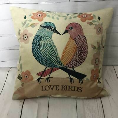 Cockeral Cushion Natural Linen Funny Novelty Scatter Home Cover What The Cluck