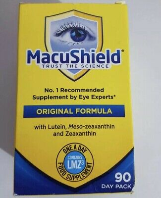 Macushield Capsules Eye Supplement (Pack of 90)