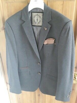 Mens Blazer House Of Cavani Blue Jacket Size 40