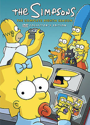 The Simpsons Complete Eighth Season 8 - DVD Collectors Edition * Free Shipping *
